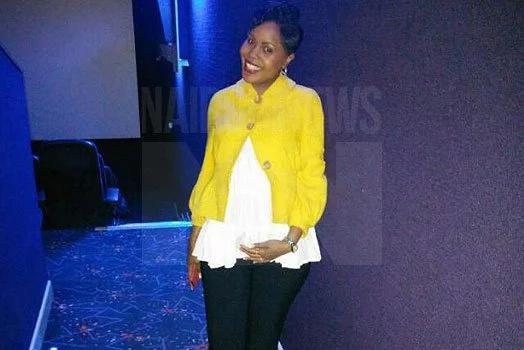 NTV's Jane Ngoiri shares baby bump photos