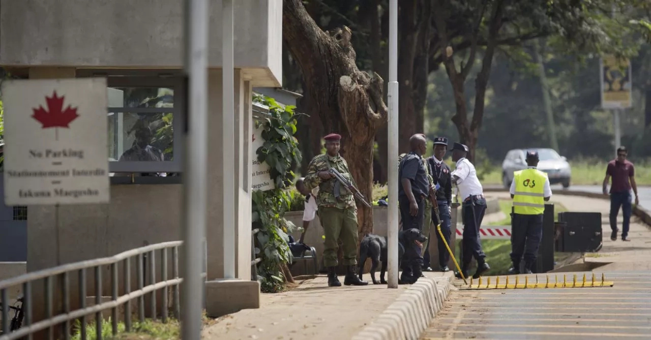 Police blame dog for false bomb alert at Canadian Embassy