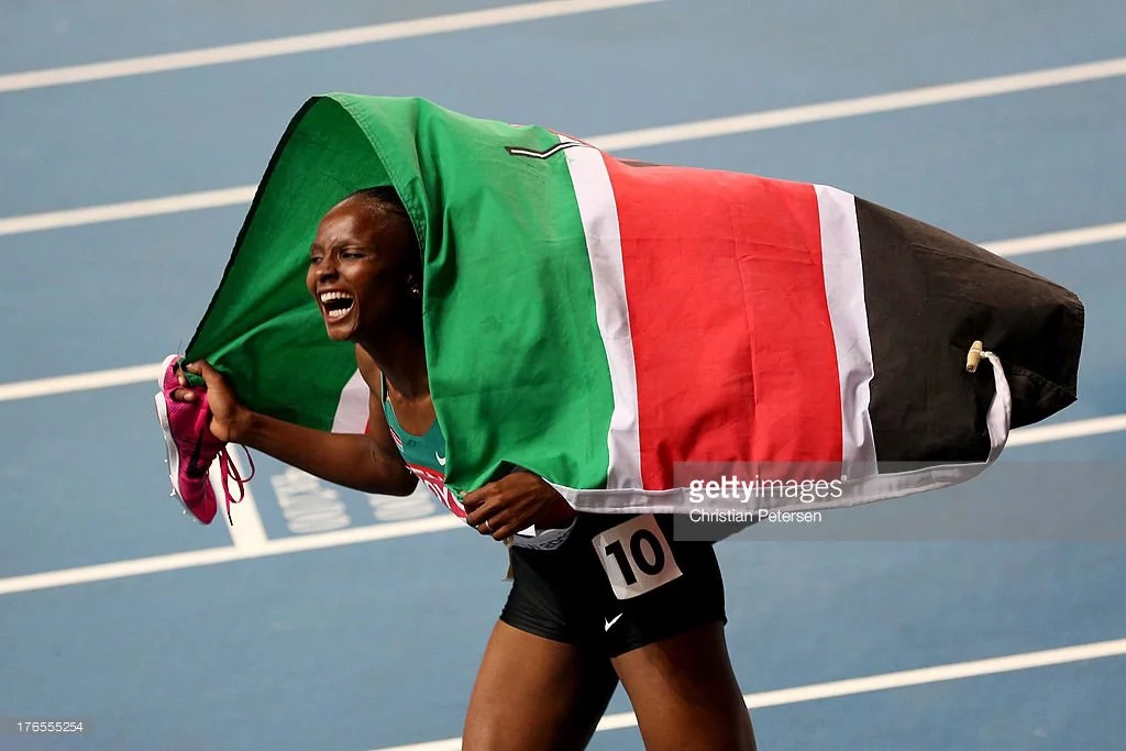 Kenyan girls into the 5000 metres final