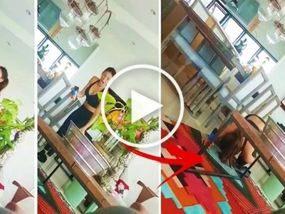 Watch Solenn Heussaff suffer a painful accident while trying to kill an annoying langaw in her house! That was so unexpected!