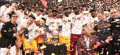 Lebron James carries Cleveland Cavaliers to its first NBA Title