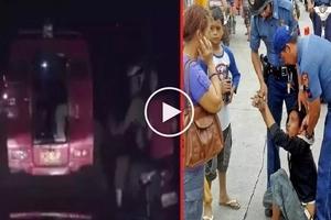 Krimen sa Cebu: Desperate teen snatches bag from helpless jeepney passenger