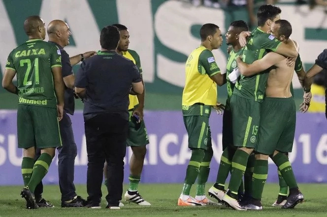 Plane carrying Brazilian football team crashes in Colombia, 6 out if 81 survive