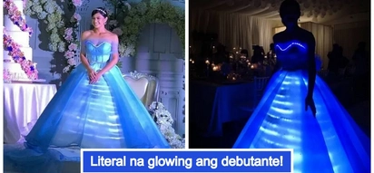 Glow in the dark ang peg! Video of Bianca Umali's shocking debutante gown will make your jaw drop
