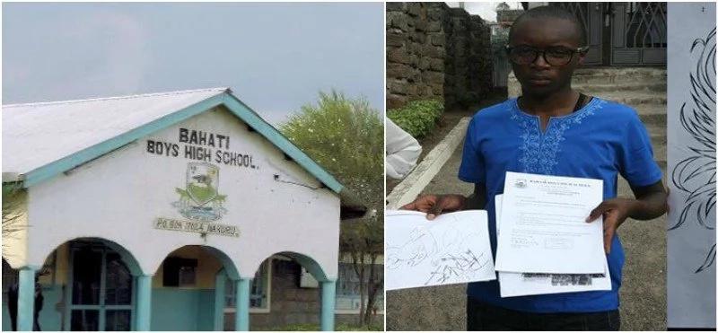 Nakuru school forced to re-admit student who drew 'DEMONIC' art