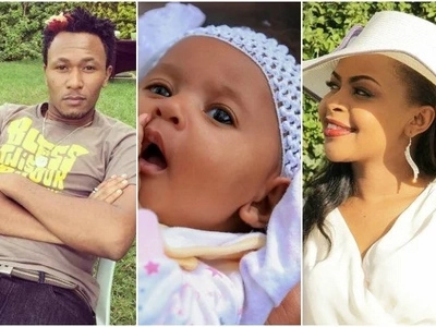 Gospel singer Size 8 and DJ Mo's CUTE daughter that Kenyans have always admired