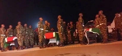 How Fallen KDF Soldiers Will Be Buried