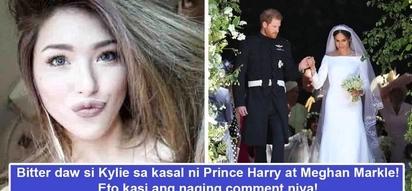 Bitter daw si ateng! Kylie Padilla nega comment ang peg sa royal wedding ni Prince Harry at Meghan Markle
