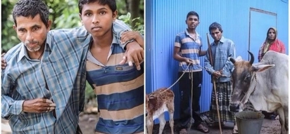 Inspiring! Read about a boy's determination to stay in school despite his father suffering a stroke