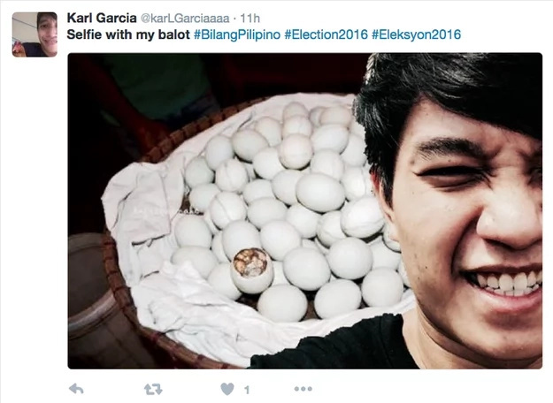 Filipinos rebel against government with balot selfies