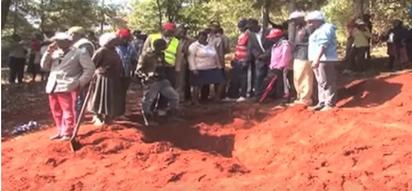 Wezi kaunti ya Nyeri wafukua kaburi ili kuiba jeneza la thamani ya Kshs 80,000