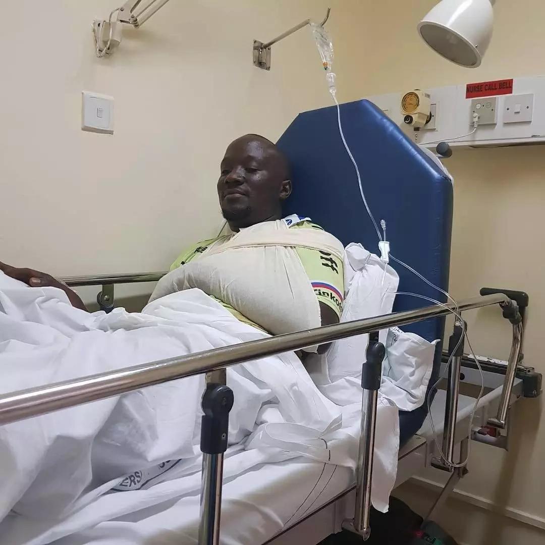 KTN journalist survives death by a whisker