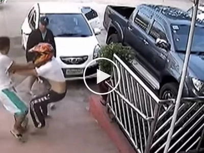 Mga kidnaper na pulis! 5 Pinoy cops caught on CCTV kidnapping helpless motorcycle rider in Cagayan de Oro
