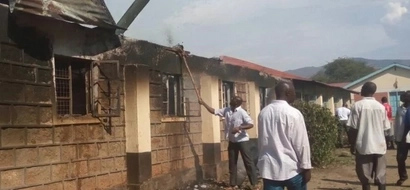 Students forced to sleep in dining hall after fire at Moi Girls