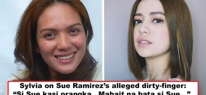 Pinagtanggol daw ang kamalditahan ni Sue? Sylvia Sanchez allegedly defends Sue Ramirez's controversial 'dirty-finger' act - 'Si Sue kasi prangka'
