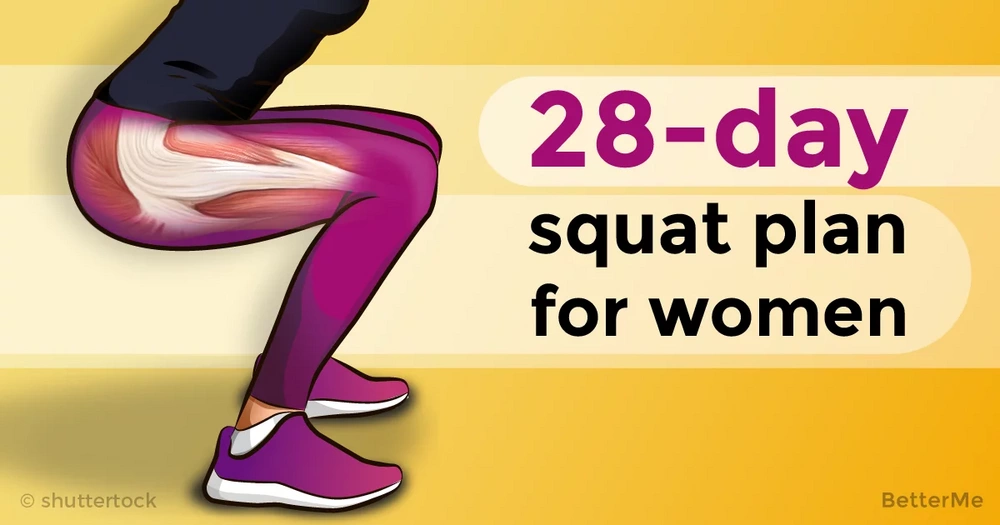 The 28-day squat plan for women over 40