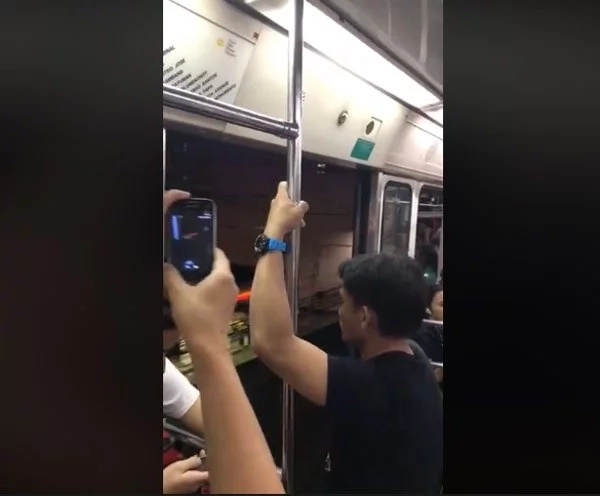 Viral video footage of LRT1 running with doors open makes netizens worry