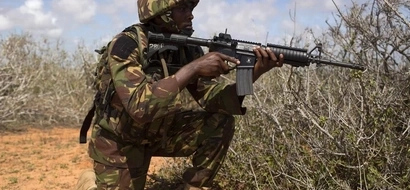 KDF Moves Tanks And Armoured Vehicles To Scene Of Ethiopian Forces Attack