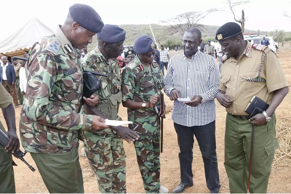 The sheet of paper in DP Ruto's hand that everyone is talking about