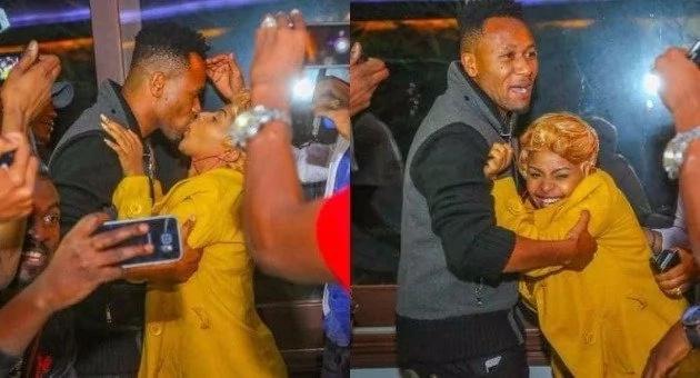 Busu la DJ Mo kwa Mkewe Siz 8 ambalo wakenya wamebaki wakilikejeli