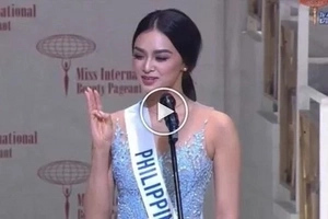 Ganda at talino! Miss Philippines Kylie Verzosa winning speech in Miss International 2016