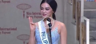 Ganda at talino! Miss Philippines Kylie Verzosa winning speech in Miss International 2016