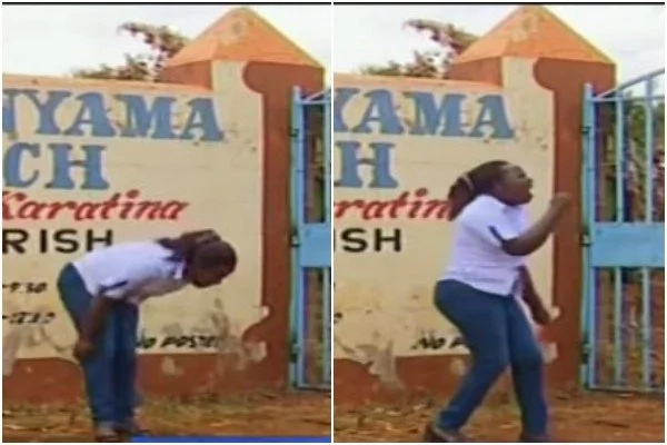 DRAMA after Nyeri woman STORMS husband's wedding