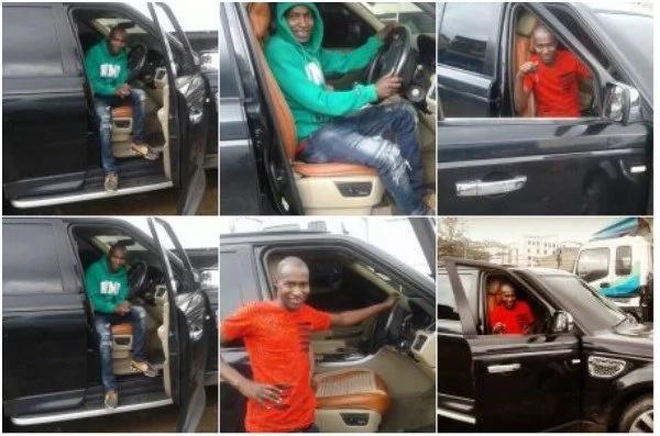 Radio Presenter who was once a Chokoraa acquires a sleek Range Rover (PHOTOS)