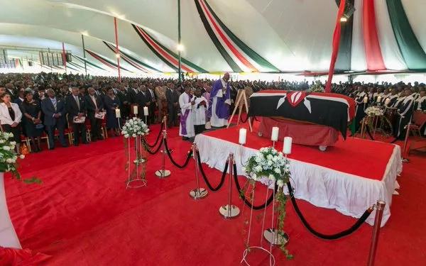 Mama Lucy Kibaki final journey