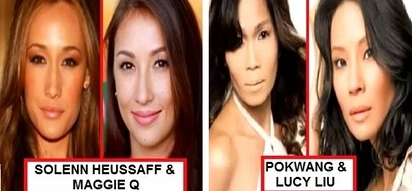 Kalokalike talaga! These 9 Filipina celebrities are doppelgangers of famous Hollywood stars!