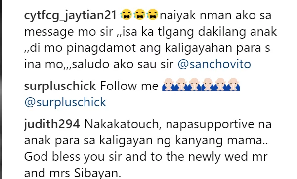 """Sabi mo nuon ""Anak ayoko ng mag boyfriend.."" Sancho Vito posts an emotional message for mom Aiai Delas Alas"
