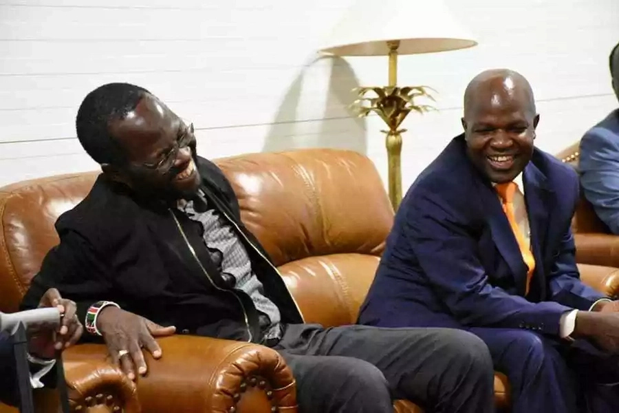 Kisumu governor jets back in the country after successful surgery and 2 month stay in the US