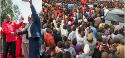 Uhuru GIFTS Nyamira residents hours after issuing millions in Kisii