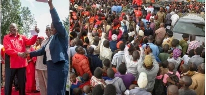 Uhuru pleads for votes in Luhya land with more enticing GIFTS