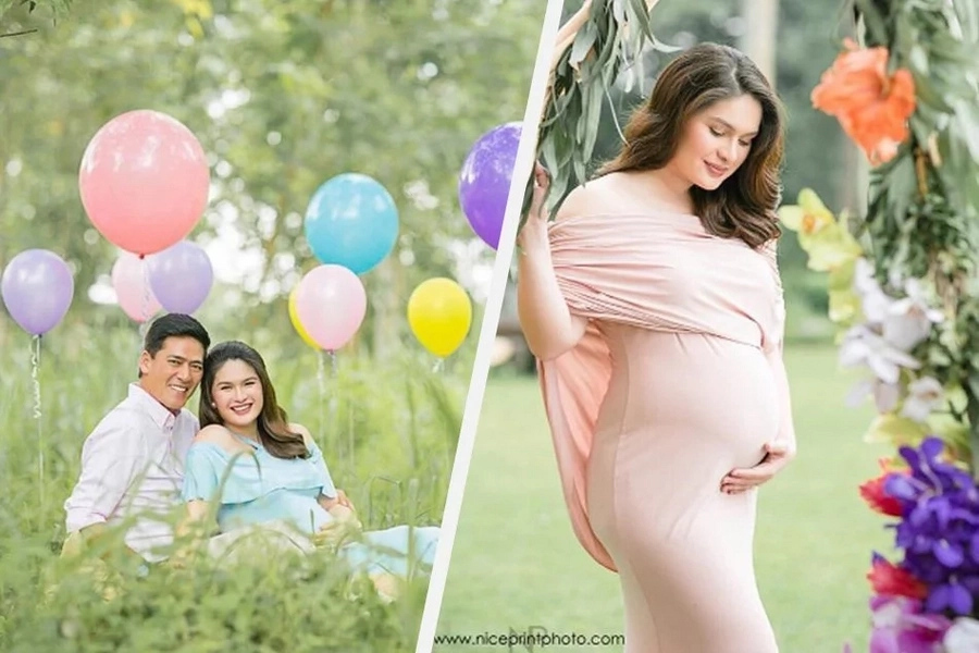 A Glimpse of Vic Sotto and Pauleen Luna's little angel 'Baby T'