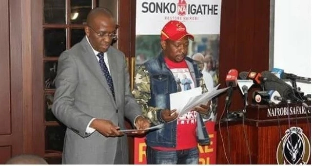 Meet the man who predicted Sonko/Igathe's fall out a month before the August election