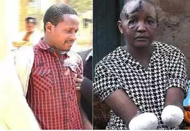 Jackline Mwende aliyekatwa mikono na mumewe ajifungua mtoto wa kiume