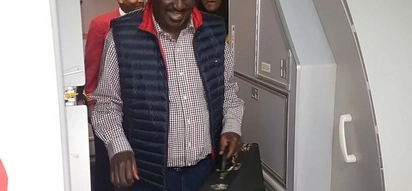 Raila Odinga lands as welcome party turns chaotic