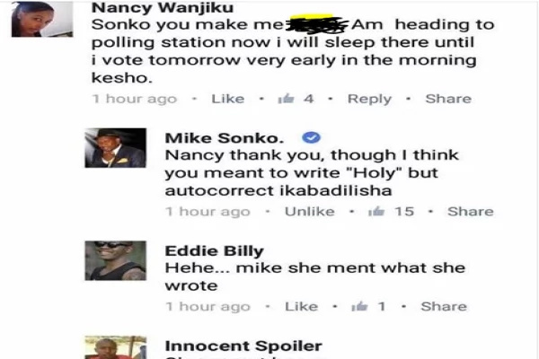 Kenyan lady throws herself at Mike Sonko, the response she got is EPIC