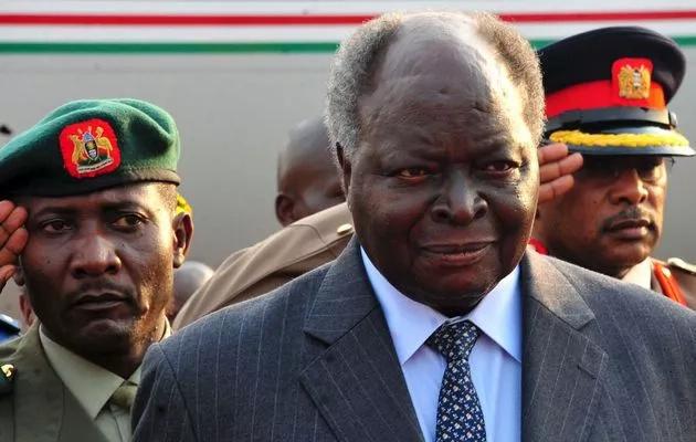Mwai Kibaki was Kenya's third president.
