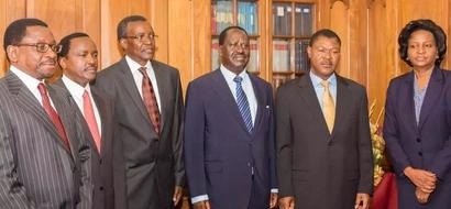 CORD wawasilisha mapendekezo ya mageuzi ya uchaguzi kwa Jaji Mkuu mpya