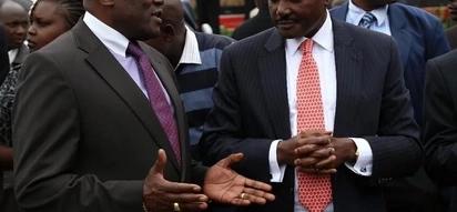 Kalonzo na Raila wakabiliwa na tishio la kulaaniwa kwa kujiapisha