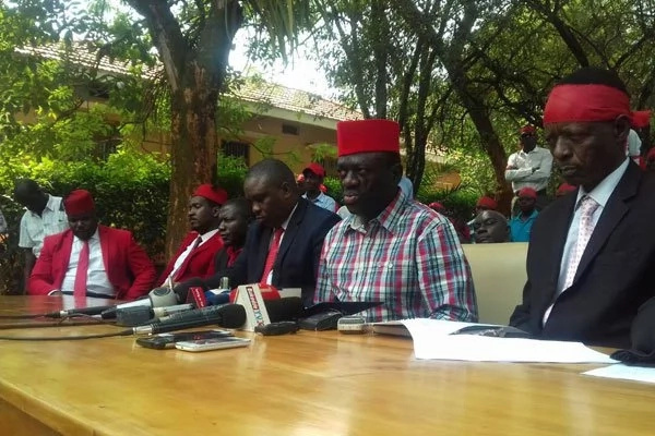 Uganda's opposition chief plans own swearing-in ceremony just like Raila Odinga