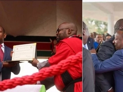 These powerful photos, videos from Governor Mike Sonko's inaugural ceremony will definitely stun you