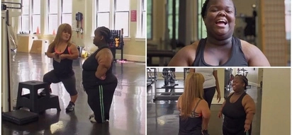 Overweight little person, 24, who weighs 97kg shares her INSPIRING weight-loss journey (photos, video)