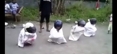 Epic sack race.. for kids only!