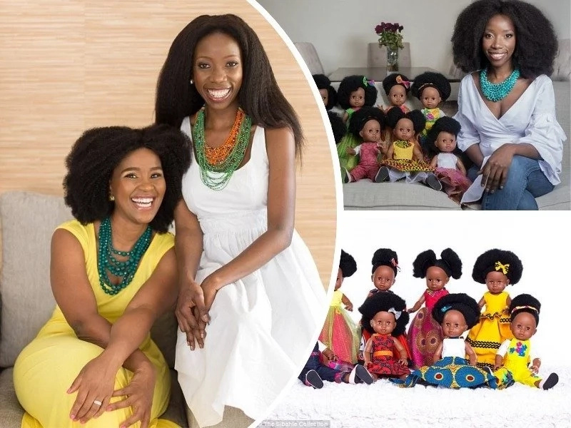 Meet 2 friends who open shop for black dolls despite being told they are ugly (photos)
