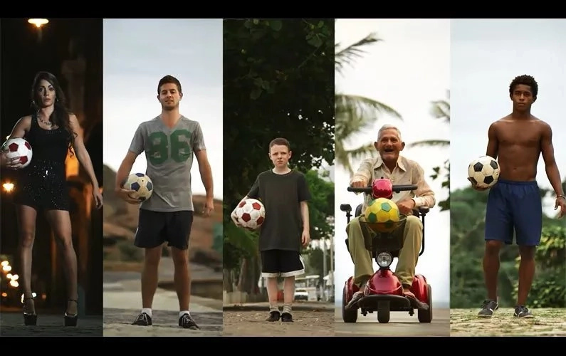 The most unlikely people perform the most incredible soccer trick shots!