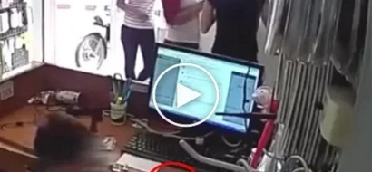 Shameless mum uses her little son to steal in stores. How dare she?