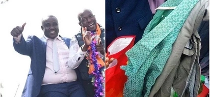 Kakamega senator on the run after failing to pay KSh 20,000 for suit and shirt